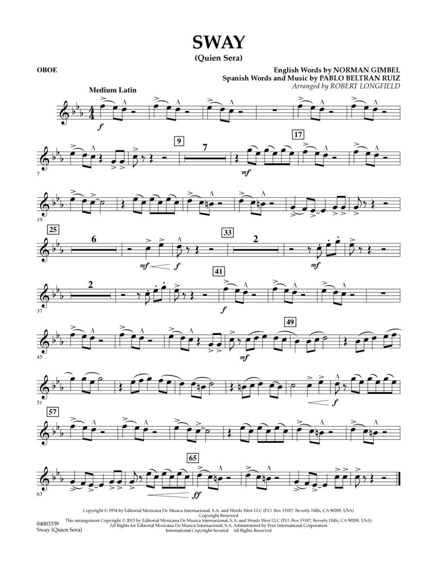 Sway (quien Sera) Dl - Oboe