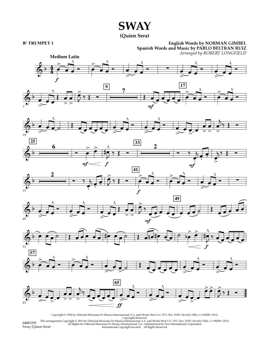 Sway (quien Sera) Dl - Bb Trumpet 1