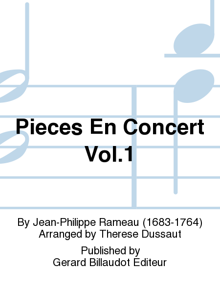 Pieces En Concert Vol.1