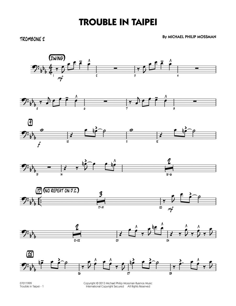 Trouble In Taipei - Trombone 2