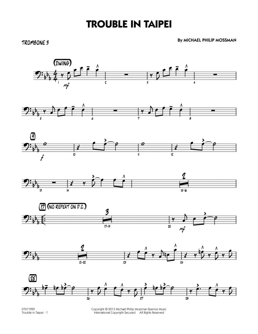 Trouble In Taipei - Trombone 3