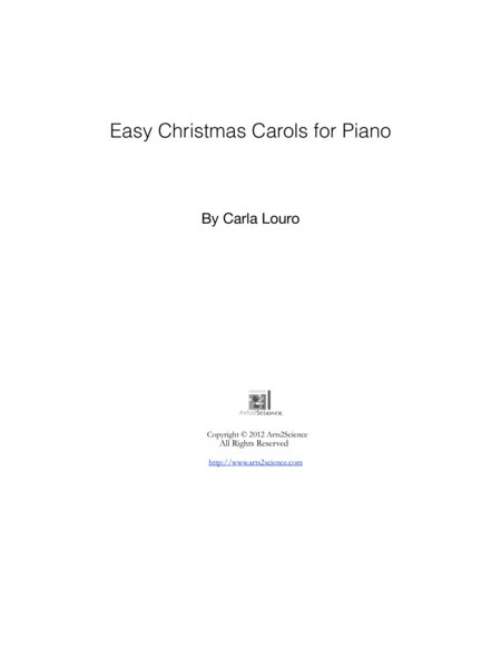 Easy Christmas Carols for Piano