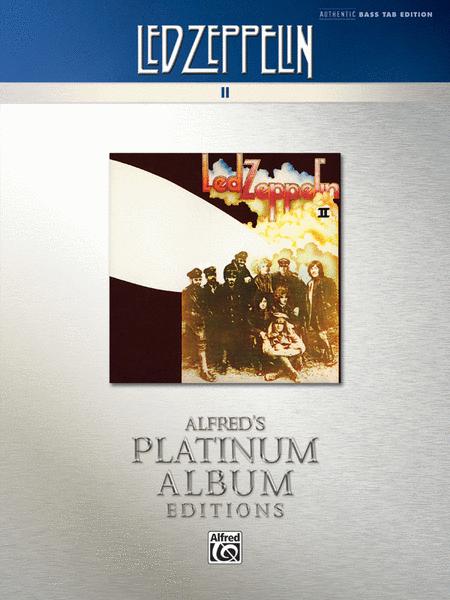 Led Zeppelin -- II Platinum Bass Guitar