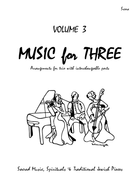 Music for Three, Volume 3 Score