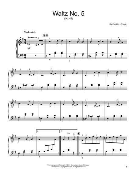 Waltz No. 5, Op. 42