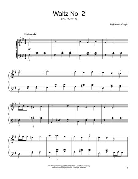 Waltz No. 2, Op. 34, No. 1
