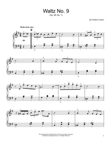 Waltz in A-Flat Major, Op. 69, No. 1