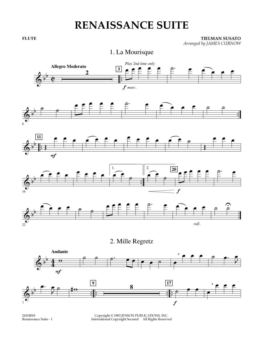 Renaissance Suite - Flute