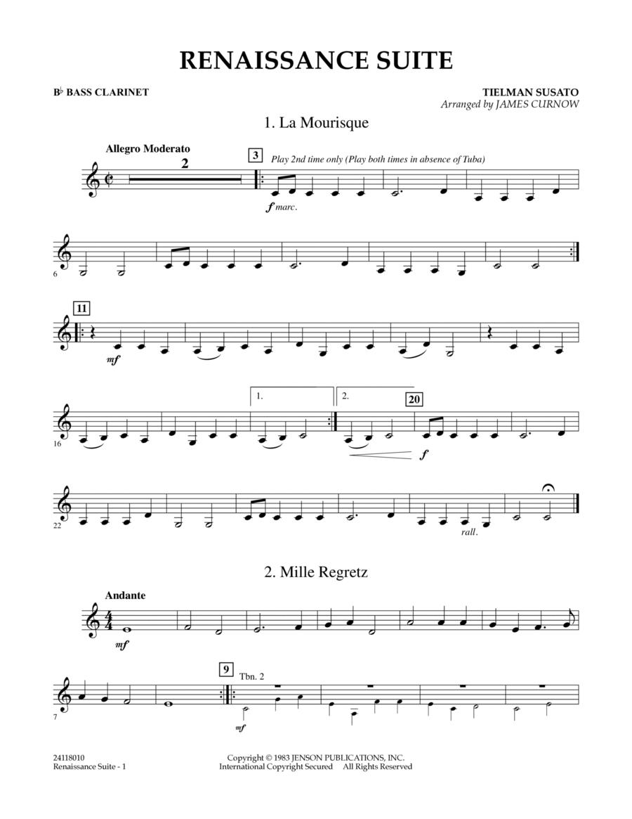 Renaissance Suite - Bb Bass Clarinet