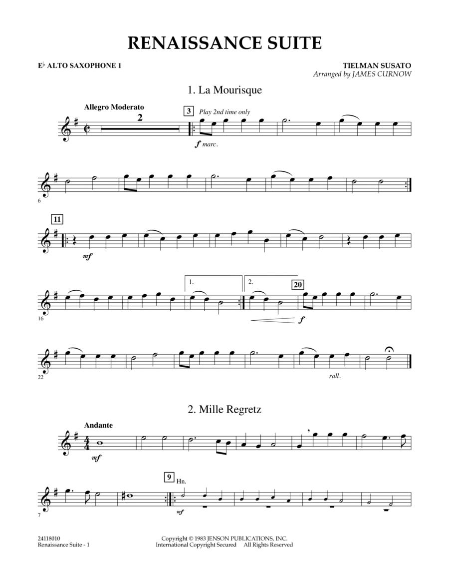 Renaissance Suite - Eb Alto Saxophone 1