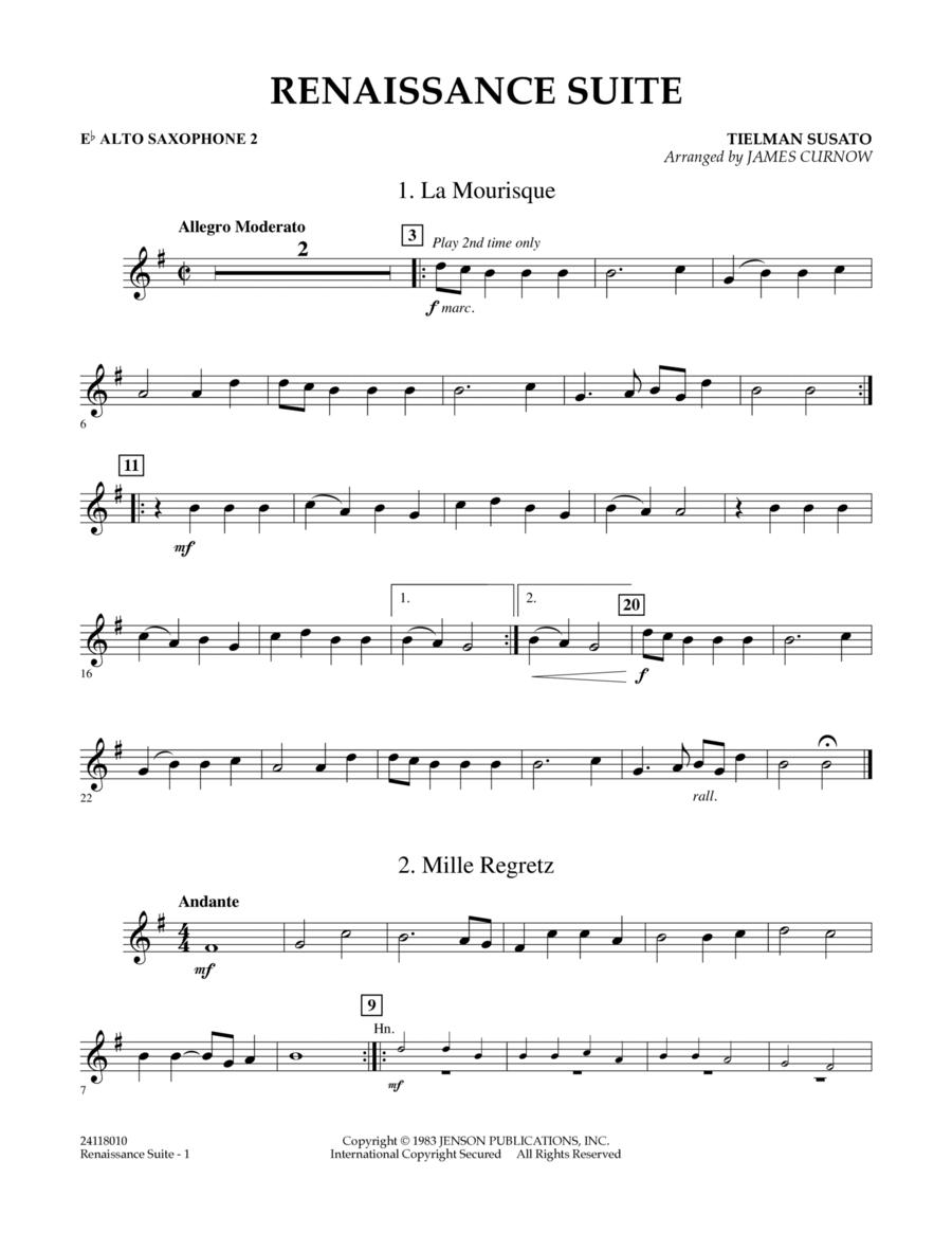 Renaissance Suite - Eb Alto Saxophone 2