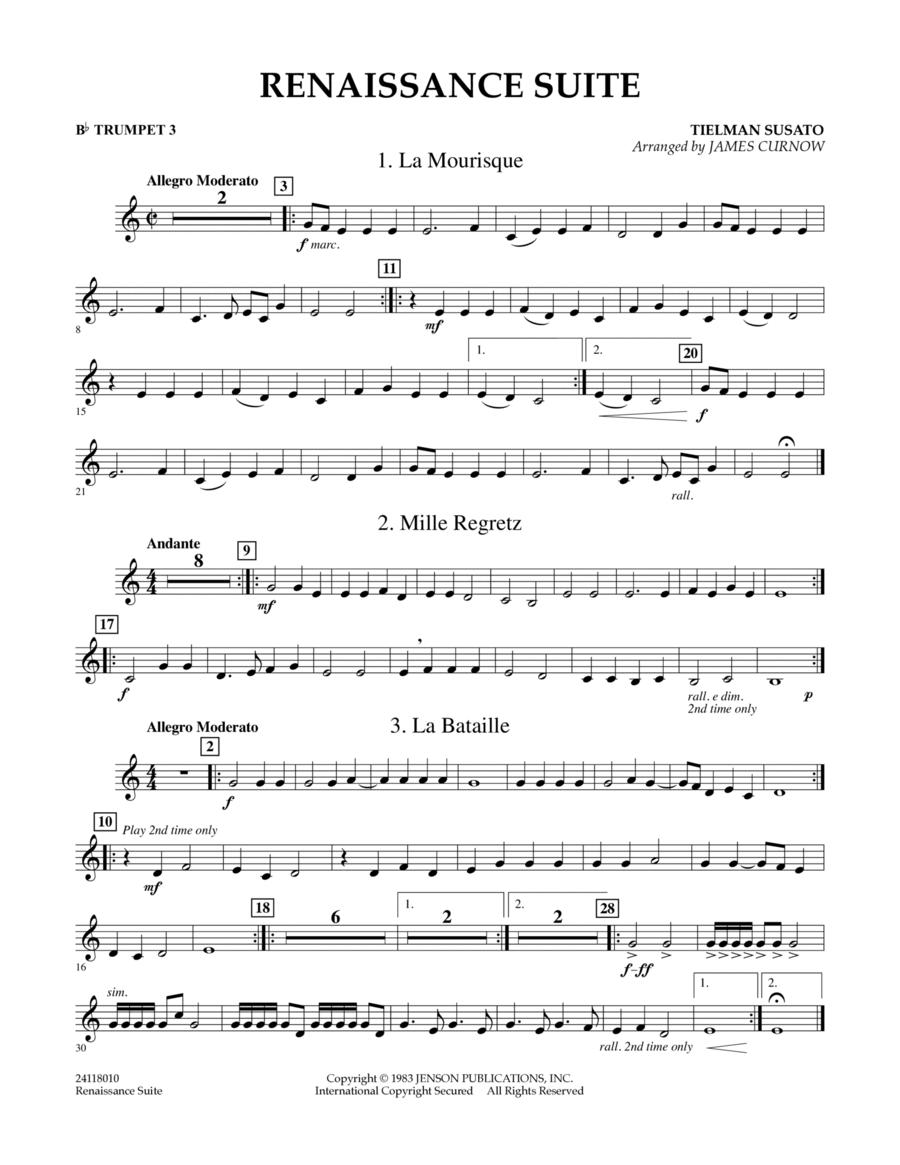 Renaissance Suite - Bb Trumpet 3