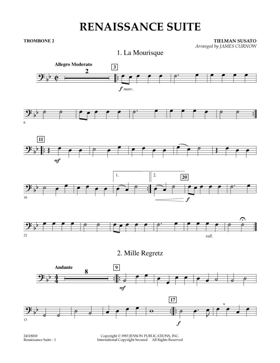 Renaissance Suite - Trombone 2