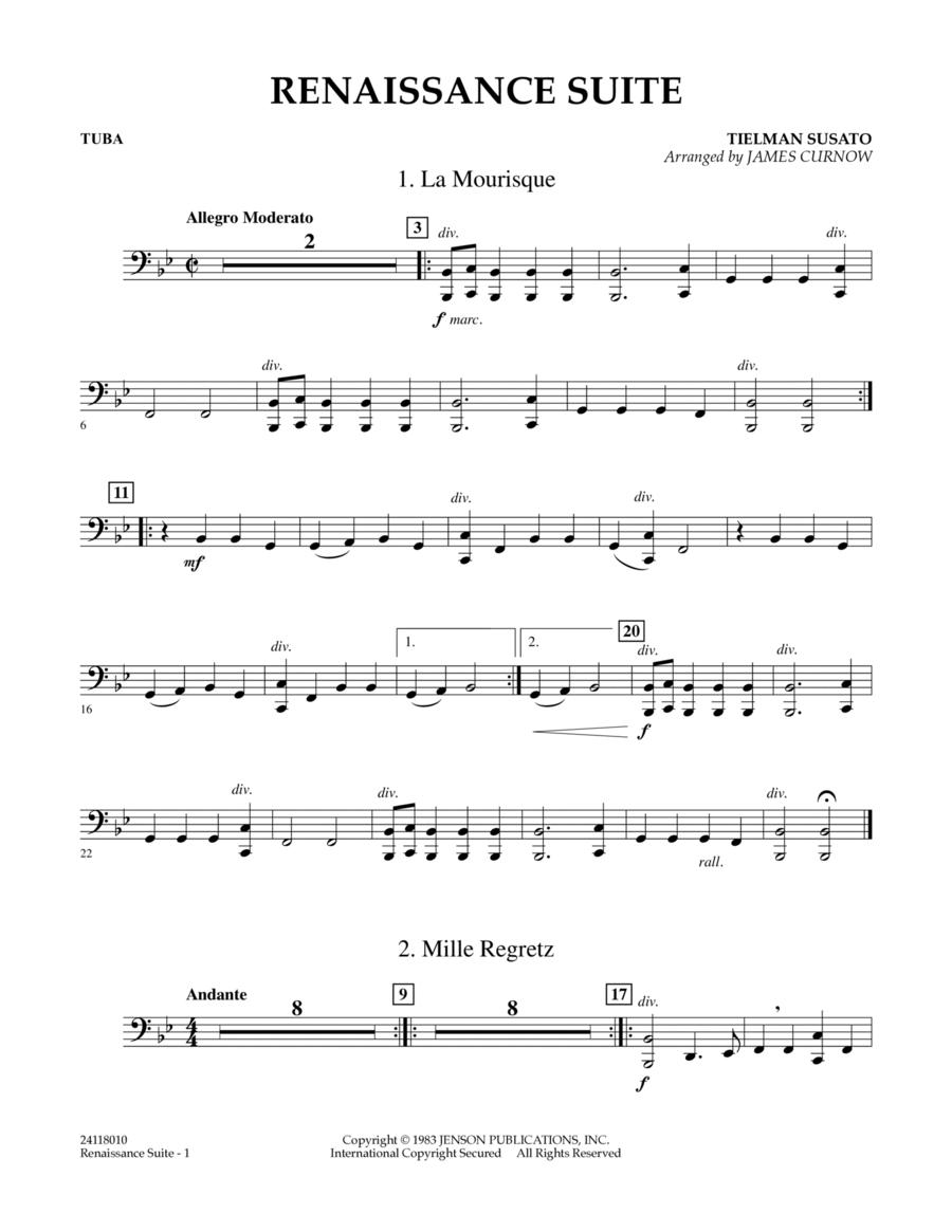 Renaissance Suite - Tuba