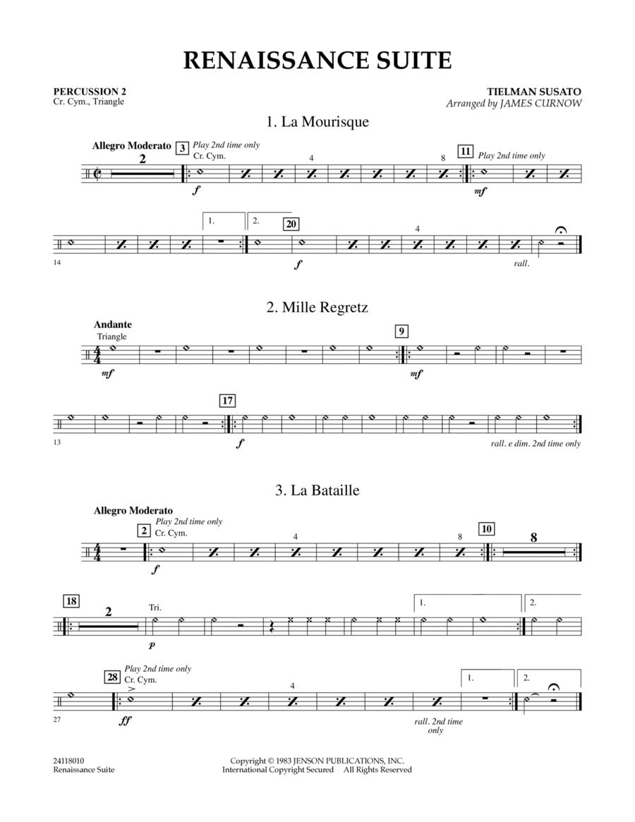 Renaissance Suite - Percussion 2