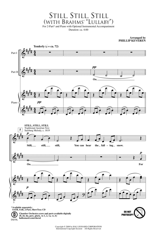 Still, Still, Still (with Brahms Lullaby)