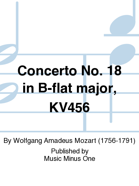 Concerto No. 18 in B-flat major, KV456