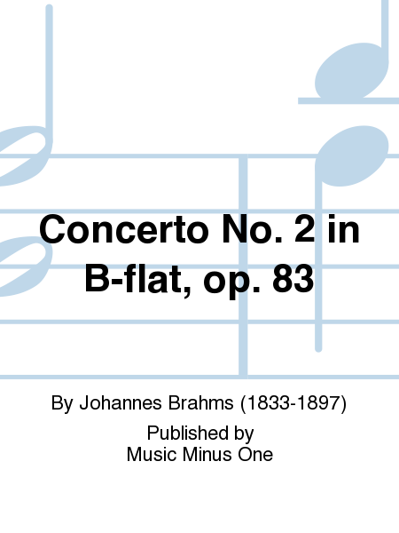 Concerto No. 2 in B-flat, op. 83