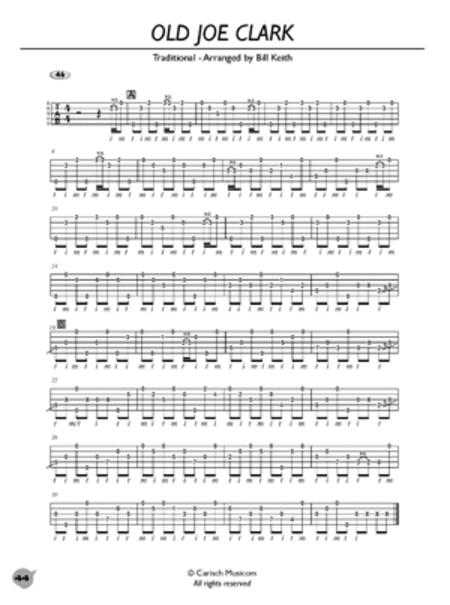 Bluegrass Banjo In Tablature: Progressive Method
