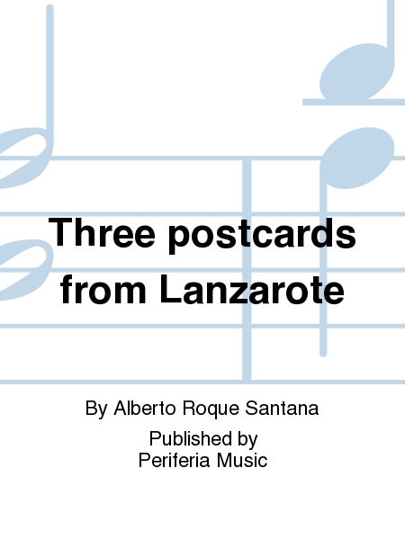 Three postcards from Lanzarote