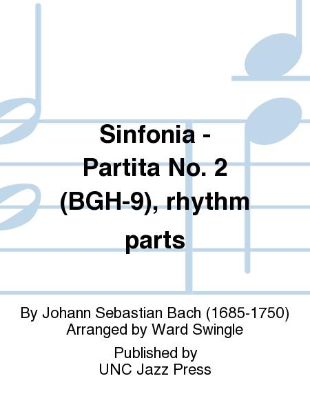 Sinfonia - Partita No. 2 (BGH-9), rhythm parts