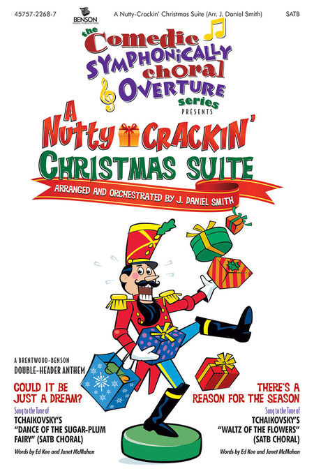 A Nutty-Crackin' Christmas Suite Orchestra Parts/Score CDR (Comedic Symphonic Choral Overture)