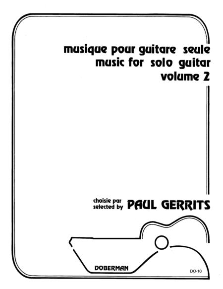 Musique pour guitare seule, Vol. 2