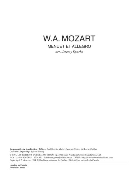 Menuet & Allegro