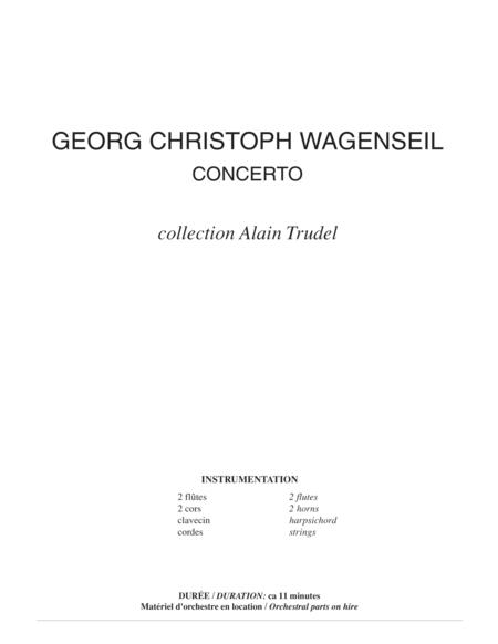 Concerto for trombone (score)
