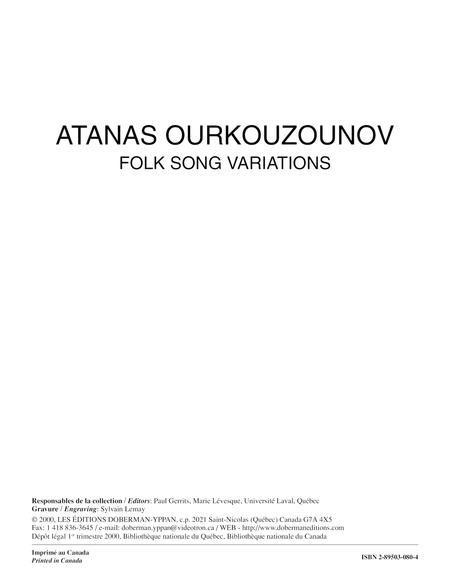 Folk Song Variations