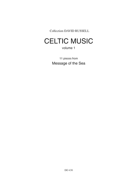 Message of the Sea, Celtic Music for Guitar, vol. 1