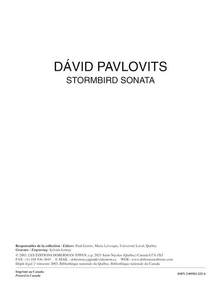 Stormbird Sonata