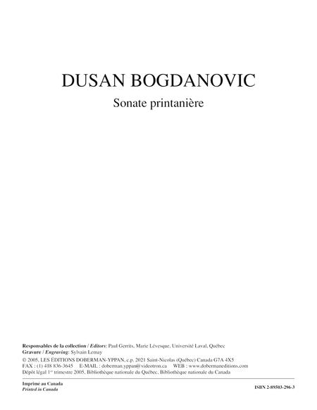 Sonate printaniere