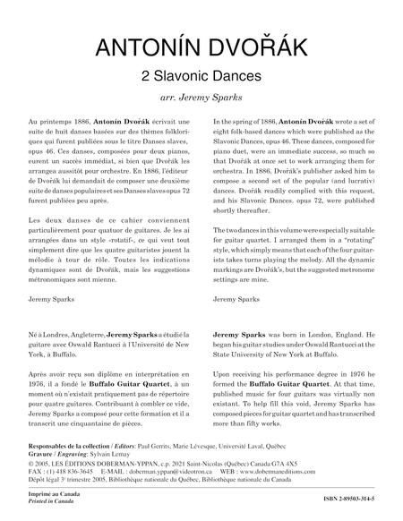 2 Slavonic Dances