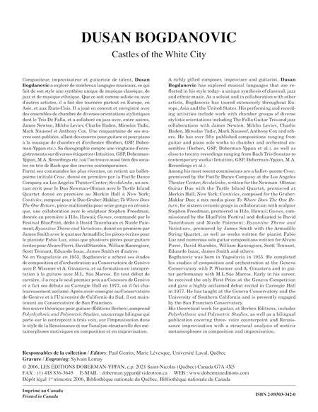Castles of the White City