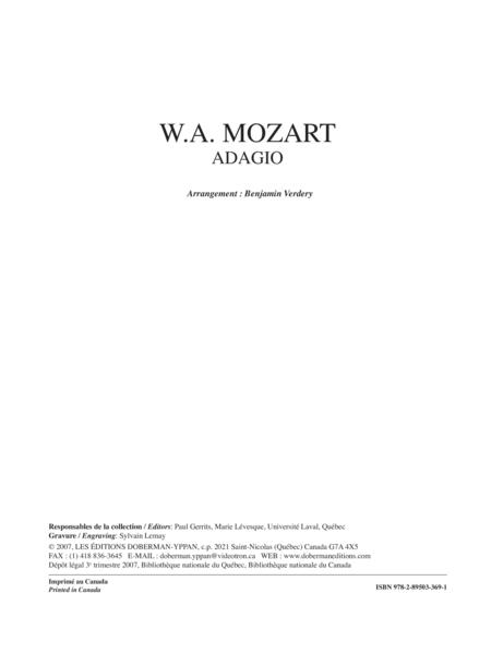 Adagio K. 540