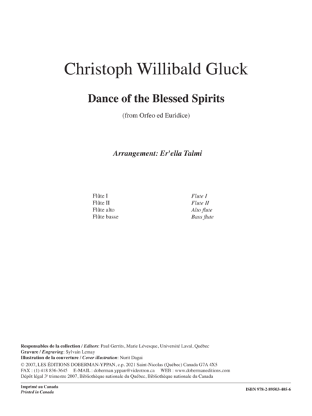Dance of the Blessed Spirits (From Orfeo ed Euridice)