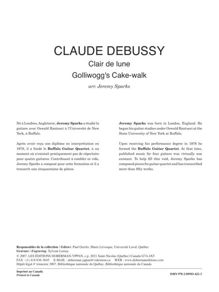 Clair de lune - Golliwogg's Cake-walk