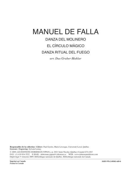 Danza del Molinero, El Circulo Magico, Danza Ritual del Fuego