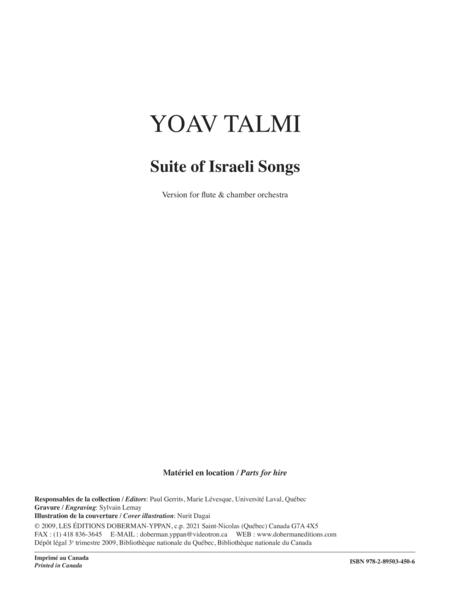 Suite of Israeli Songs