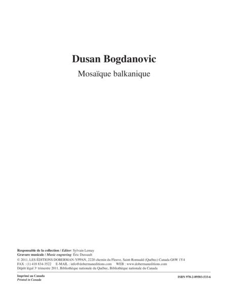 Mosaique balkanique