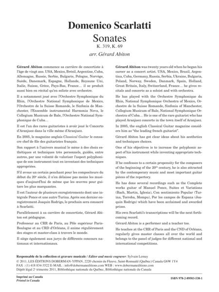 2 Sonates, vol. 3, K. 319, 69