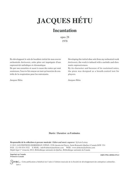 Incantation, opus 28