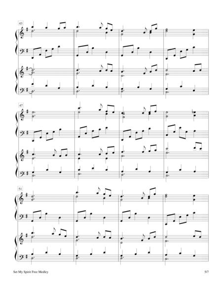 Set My Spirit Free Medley - Keyboard Duet