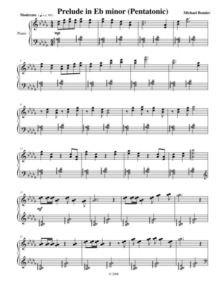 Prelude No.8 in Eb minor from 24 Preludes