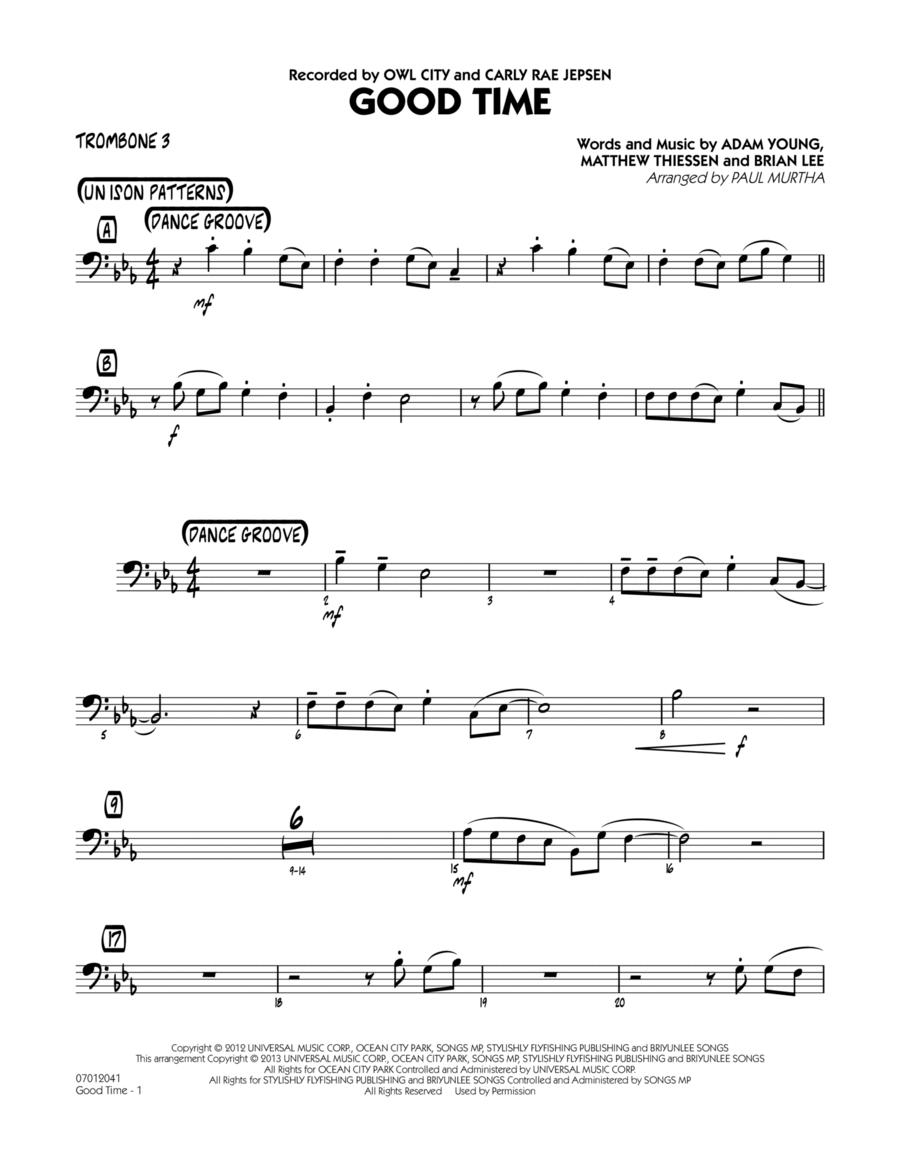 Good Time - Trombone 3