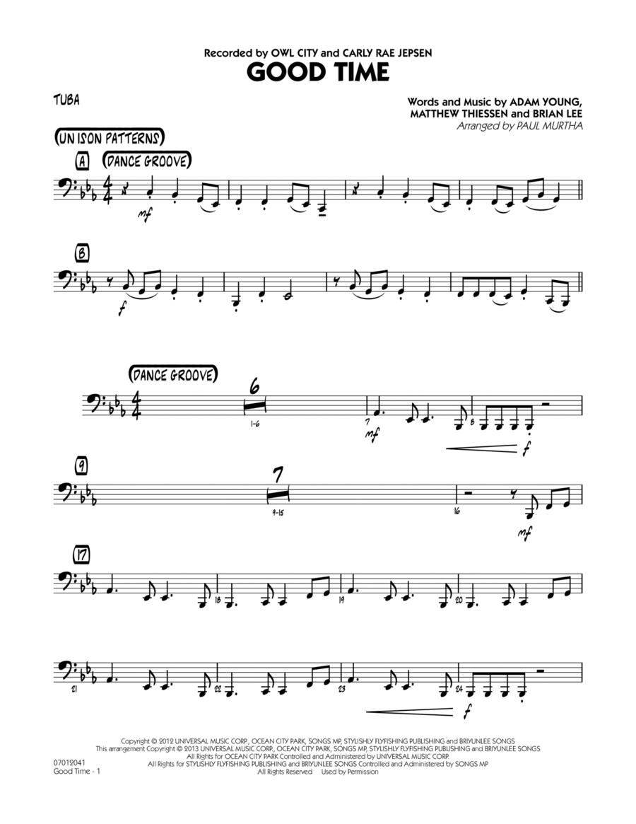 Good Time - Tuba