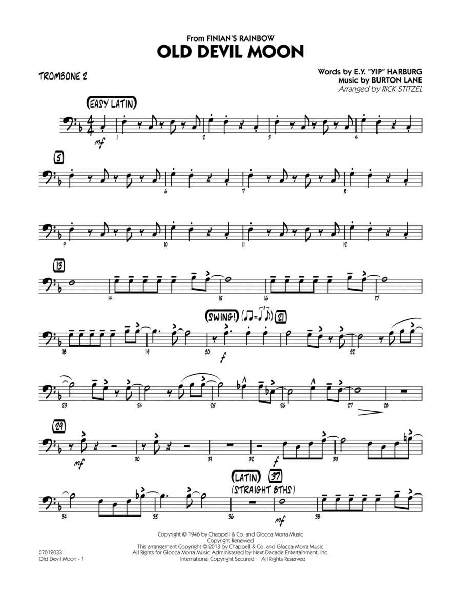 Old Devil Moon - Trombone 2