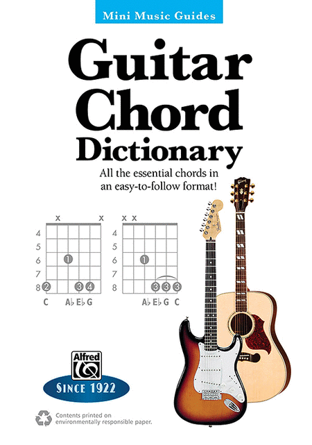 Mini Music Guides -- Guitar Chord Dictionary