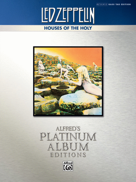 Led Zeppelin -- Houses of the Holy Platinum Bass Guitar
